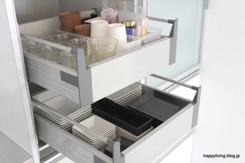 キッチン カップボード 食器棚 収納 (6)