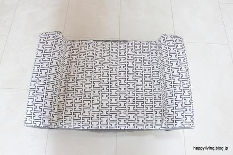 犬ベッド カバー artek 手作り モノトーン (3)