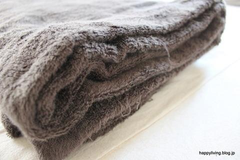 無印良品 タオルケット 寝室 (1)