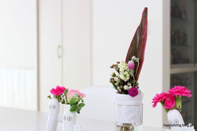 sarasa フラワーベース インテリア 花瓶 一輪挿し セメント (5)