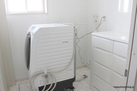 洗濯機キャスター台 掃除 移動
