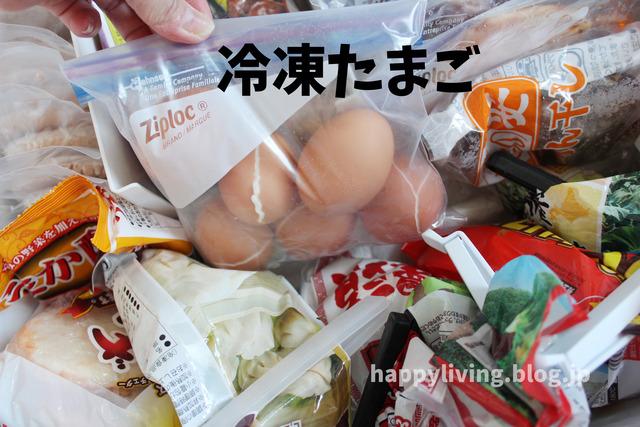 常備食材 コープふっくらジューシー生ハンバーグ 冷凍庫収納 (11)