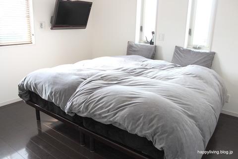 掃除がラク すのこベッド 寝室