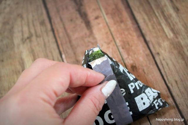 アルミホイル マスキングテープ パリパリ海苔 おにぎり (9)