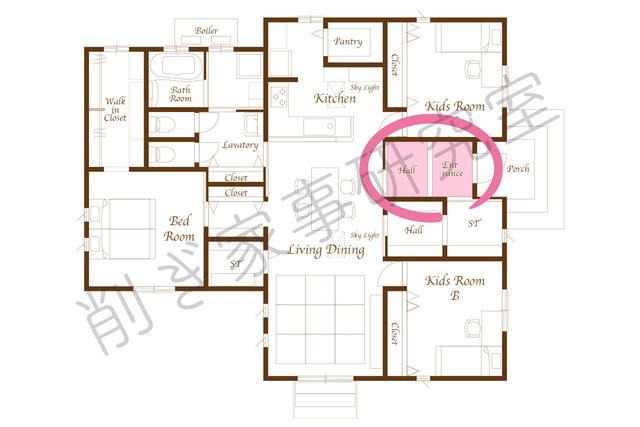 家づくり 玄関16