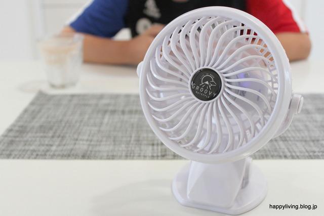 ミニ扇風機 クリップファン モノトーン 充電 USB (6)