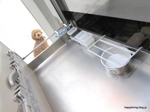 キッチン シンク下収納 犬のエサ