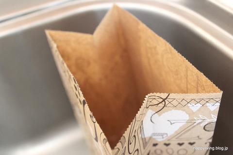 セリア 水切りゴミ袋 (6)