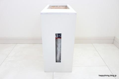 ティッシュ付きゴミ箱 ポリ袋 犬トイレ 収納
