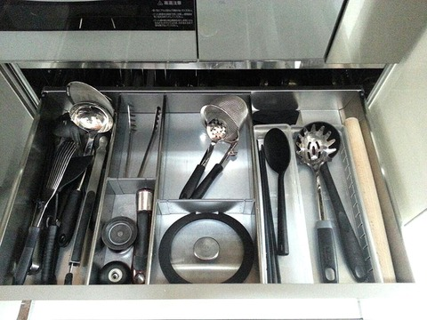 調理器具 収納