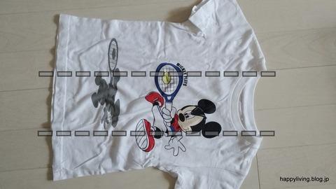 Tシャツ コンパクトに畳む (2)