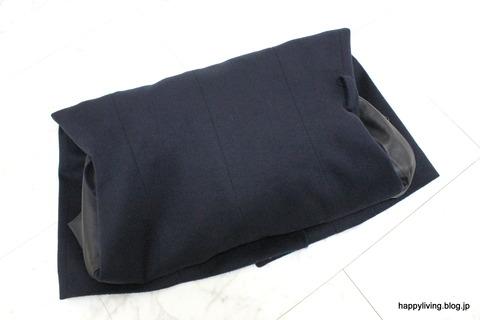 袖が革のコート 自宅で洗濯 (6)