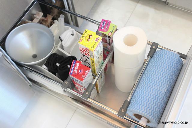 キッチン収納 アイディア ニトリ 使い捨て台ふきん (4)