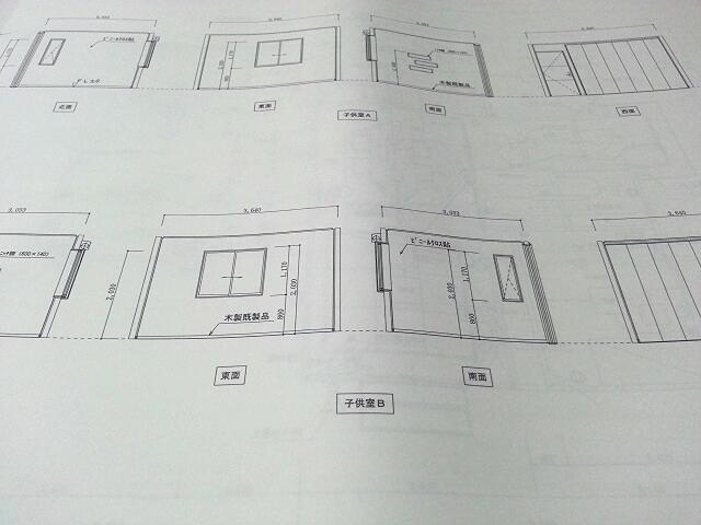 子供部屋 展開図