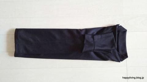 ポロシャツ コンパクトに畳む (5)