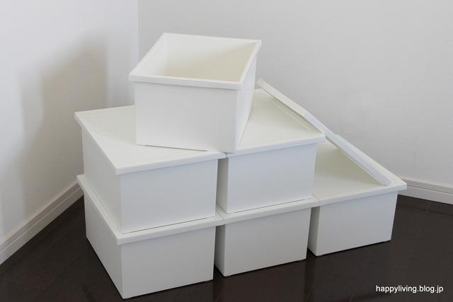 ファボーレヌーヴォ 収納ボックス ホワイトインテリア A4