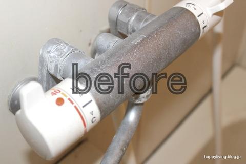 実演お掃除セミナー 浴室蛇口 before-001