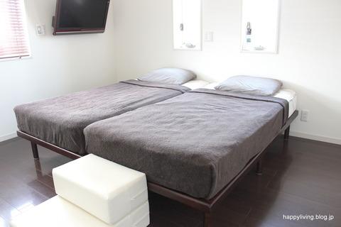 無印良品 タオルケット 寝室 (4)