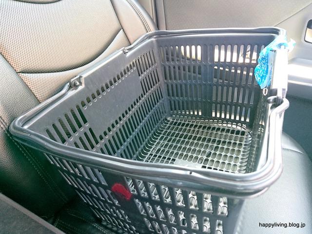 ペットボトル リサイクル 面倒 ポイント 買い物カゴ収納 (4)