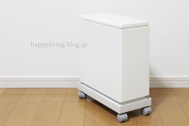 ideaco 無印 キャスター フタ ファイルボックス  ゴミ箱 (7)