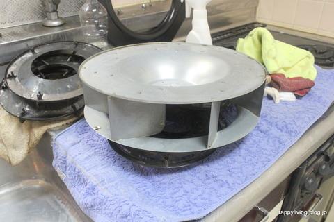 キッチン 換気扇掃除 油