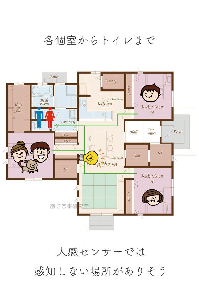 注文住宅 照明8
