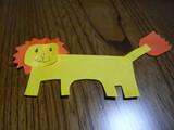 3歳10カ月の病室のライオン