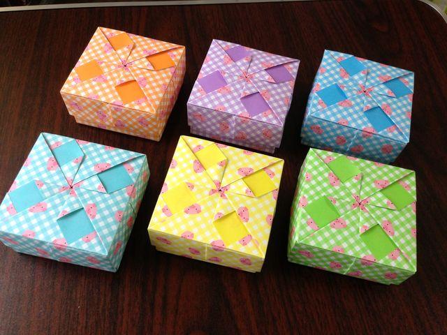 すべての折り紙 ぽち袋 折り紙 : 布施知子 著『箱をつくろうう ...