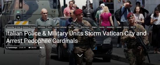 イタリア警察と軍