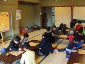 行徳将棋クラブ風景