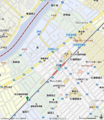 香取地域ふれあい館地図