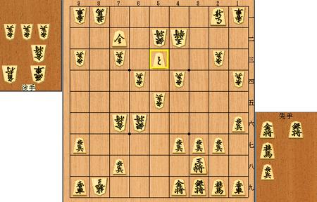 王位戦終局図