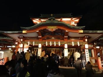 富岡八幡宮2014元旦