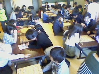 将棋教室風景