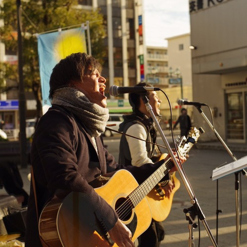 行徳駅前ストリートライブ