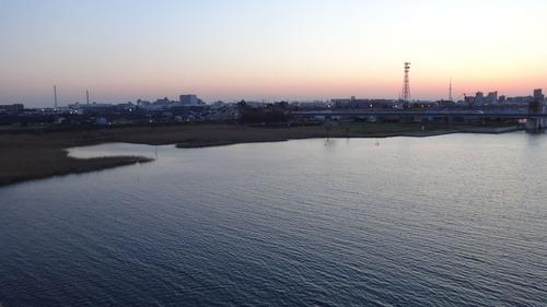 新行徳橋より