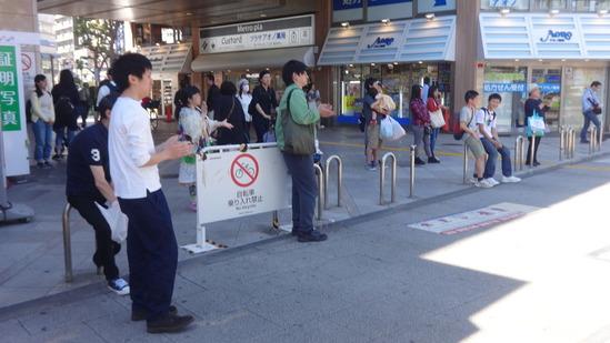 行徳駅前ストリート観衆