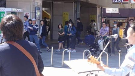 行徳駅前ライブ