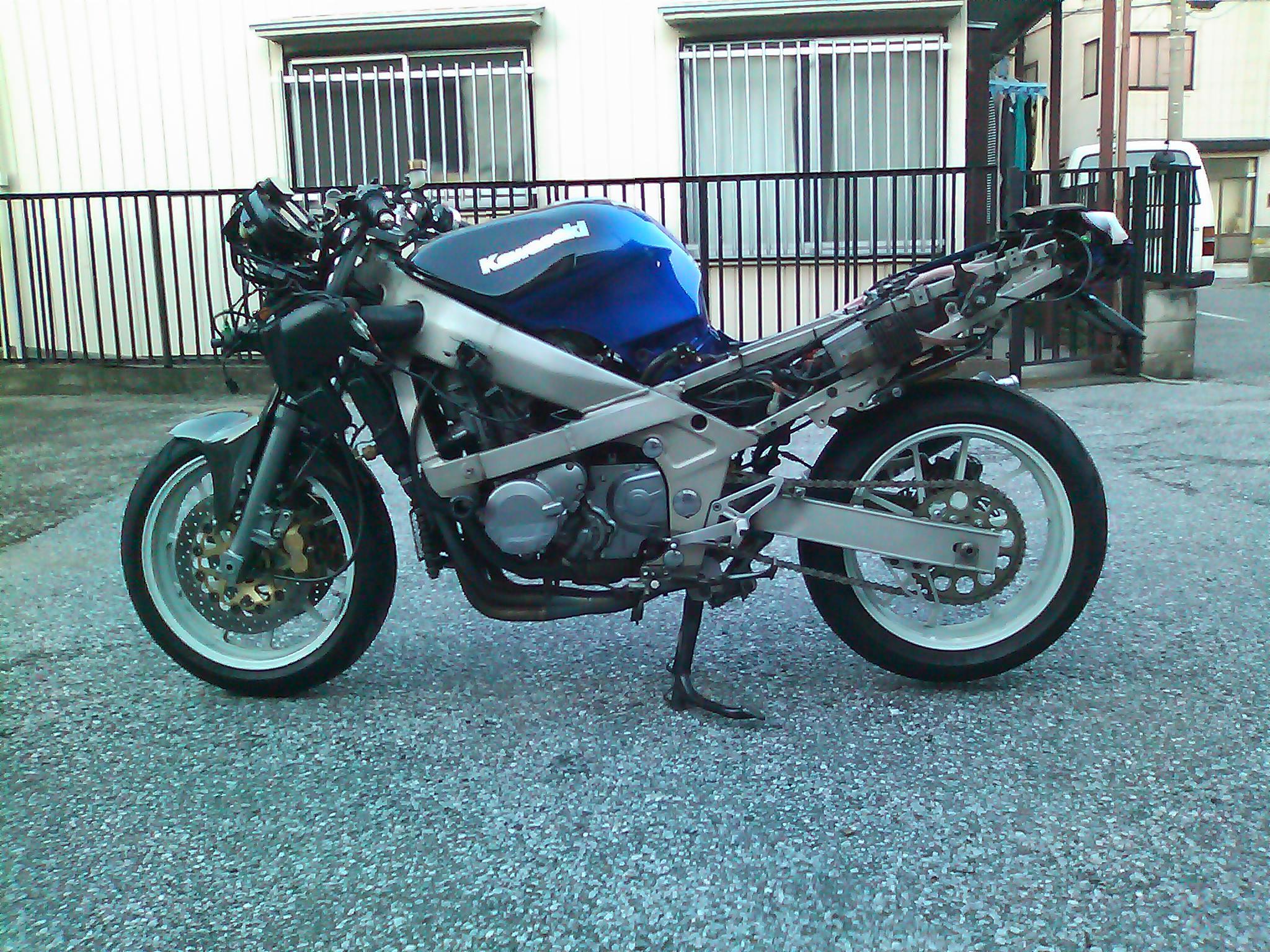 今の、バイクはこんな状態です ...