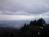 大山山頂からの眺め9月27日