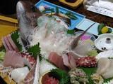 でたー!食べきれないほどの海鮮料理!