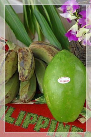 papaya & saba