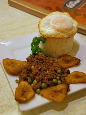 arroz  a la cubana 4