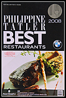 book best restaurant 2008