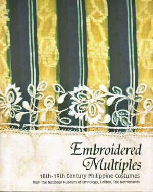 book Embroidered Multiples