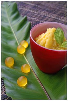 green mango sharbet