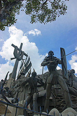 heritage of cebu monument 3