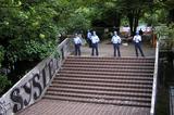 強制排除・封鎖された宮下公園(北口