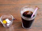 神谷町オープンテラス・新作お菓子とアイスコーヒー