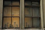 天満音楽祭会場のひとつ・フジハラビルの窓